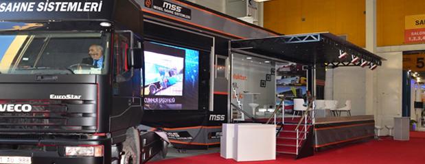 OSS 82 Mobil Sahne Led Ekran